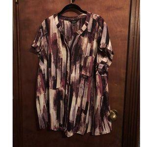 Purple jcpennys blouse